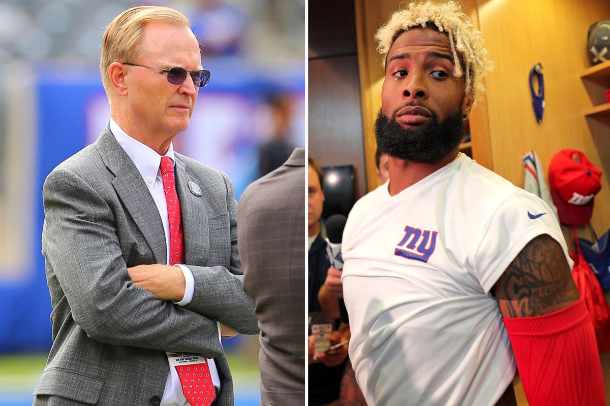 Odell meets with John Mara, but isn't sorry for pee