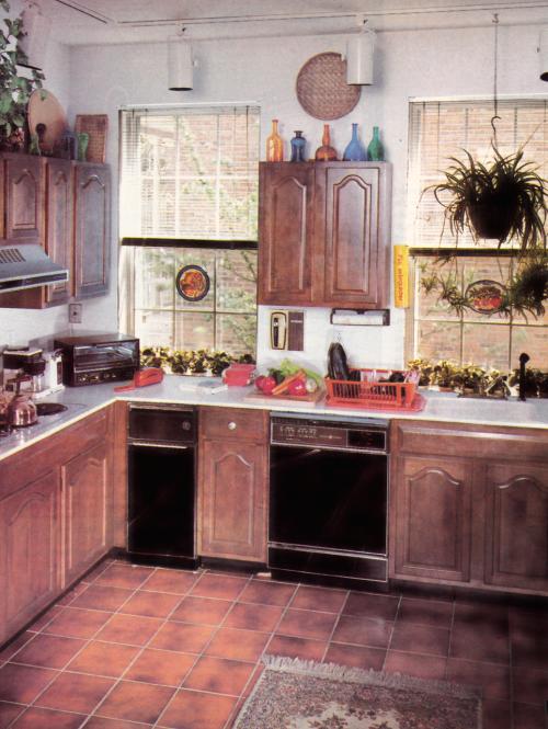 1980s Kitchen Decor   Painted kitchen floors, 1980s decor ...