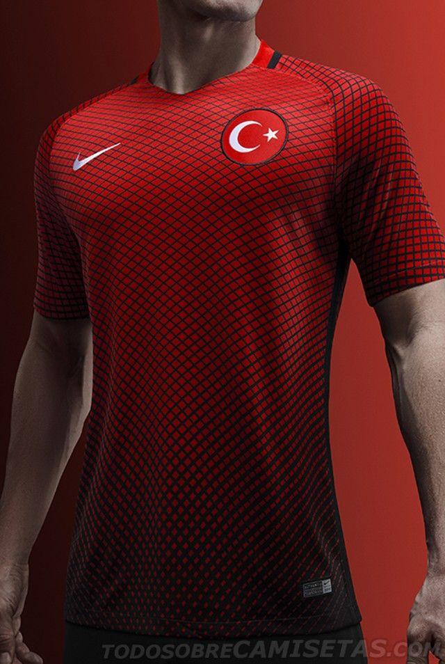 250fab2209a Turkey Nike EURO 2016 Kits | camisetas | Nike, Camisetas, Equipo de ...