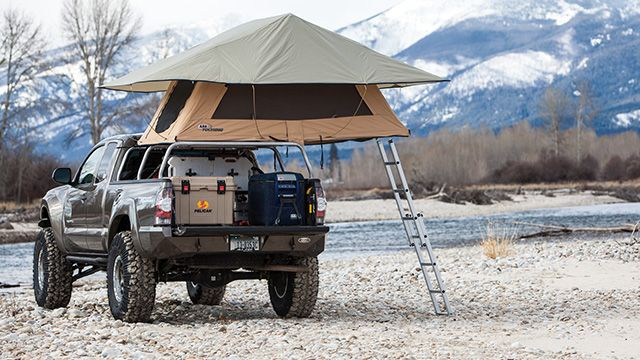 ARB Simpson III Rooftop Tent & ARB Simpson III Rooftop Tent | Tacoma Upgrades | Pinterest | 4x4 ...