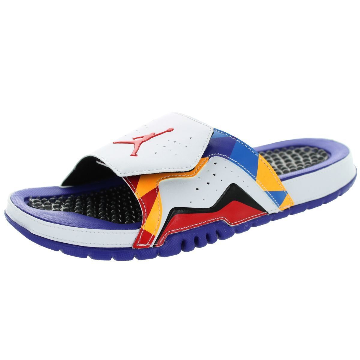 7c7225526 Nike Jordan Men s Jordan Hydro Vii Retro White University Red d Lsr ...