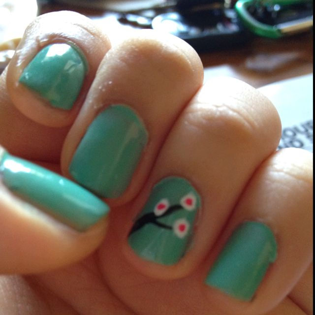 Cherry blossom inspired.. Turquoise and Caicos by Essie