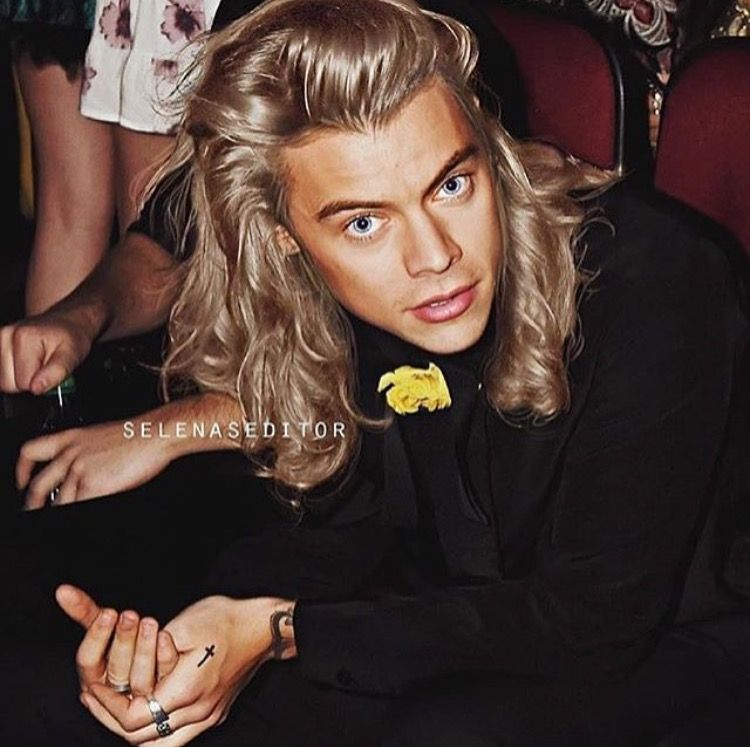 Harry Looks So Good With Blonde Hair