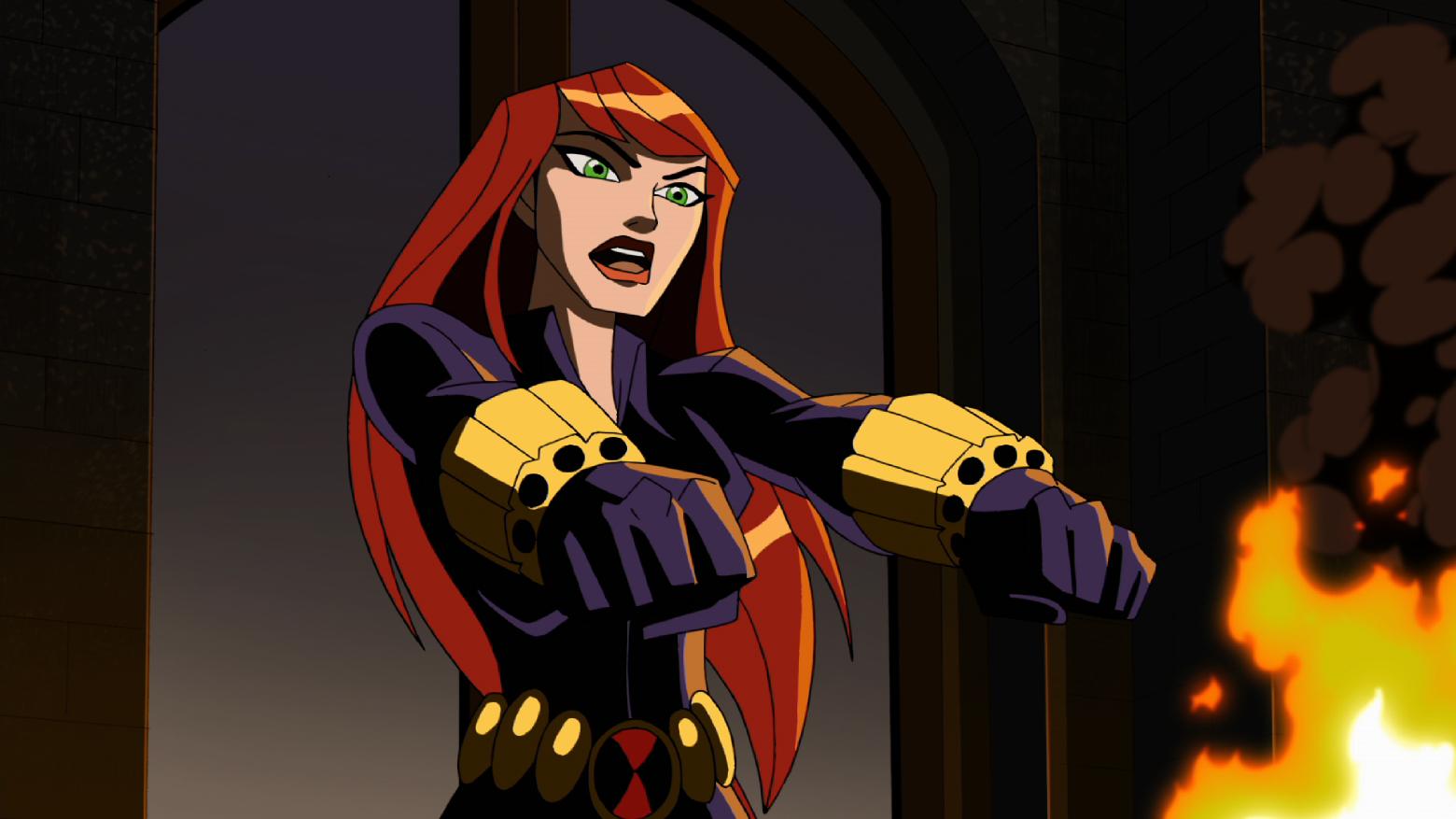 black widow animated - Google Search
