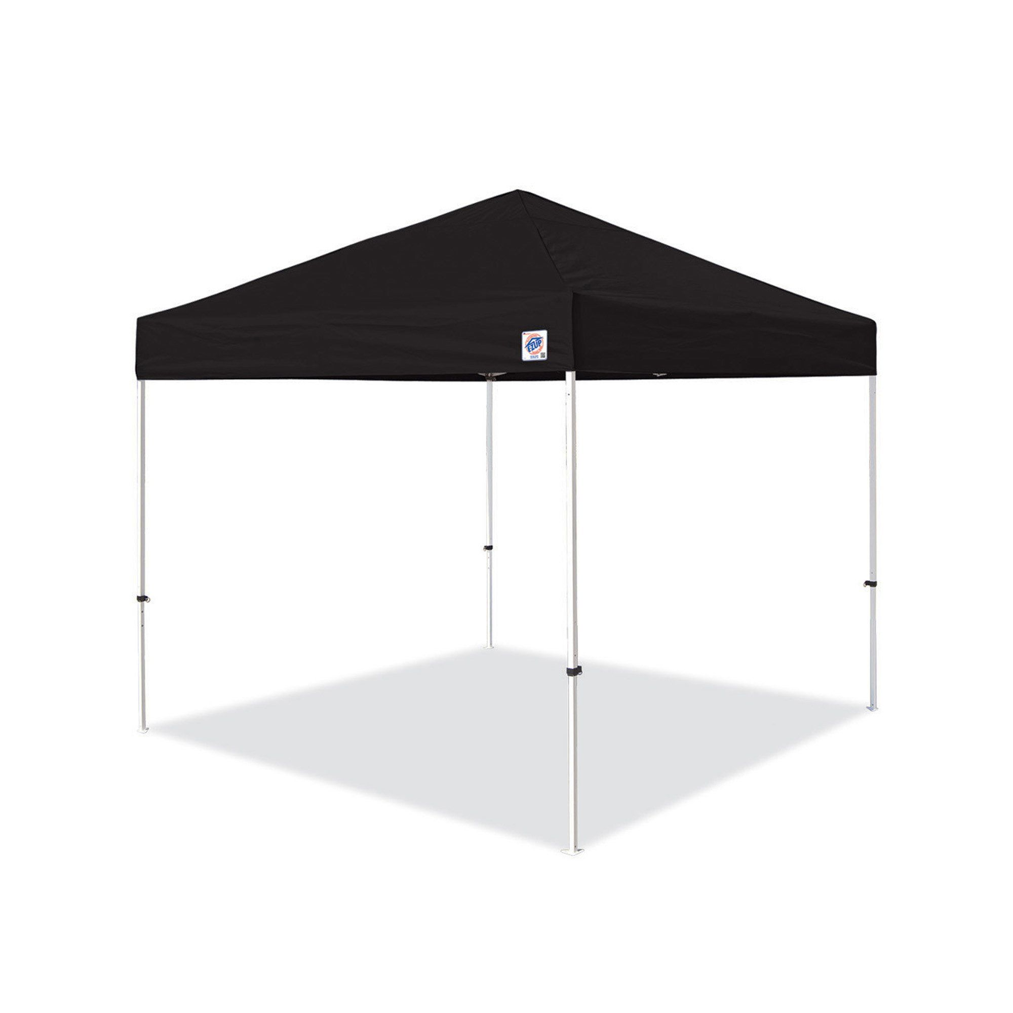 Ez up pyramid instant shelter canopy by u black pull pin
