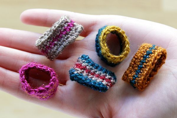Crochet Ring DIY with Free Pattern at Hands Occupied | Crochet + ...