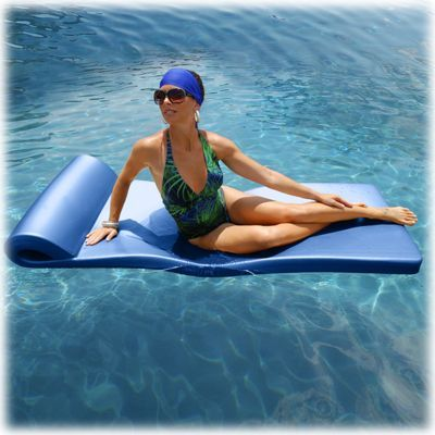 Ultra Sunsation Pool Float Metallic Blue