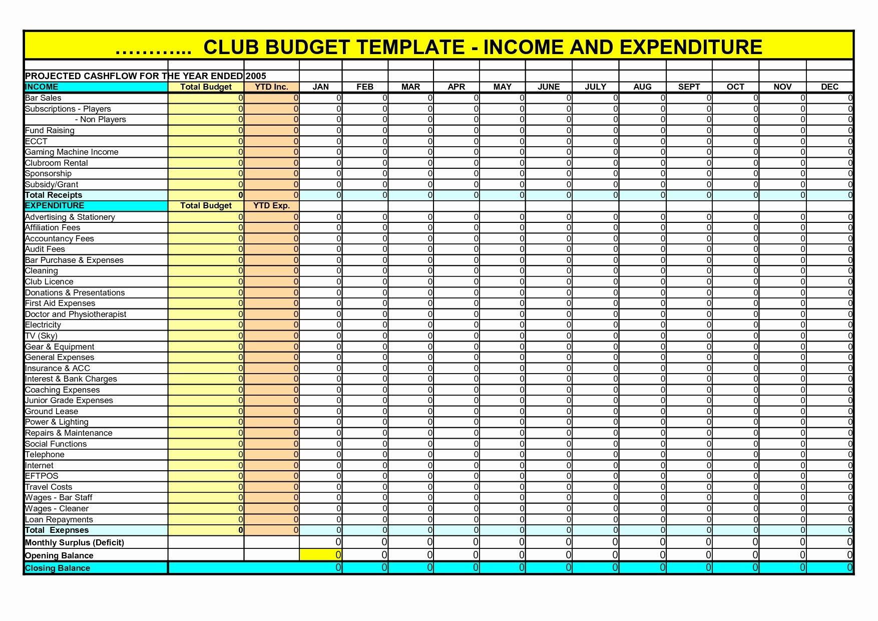 New Expenses Excel Exceltemplate Xls Xlstemplate