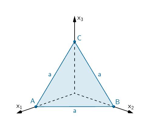 gleichseitiges Dreieck ABC