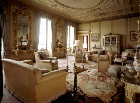 The south drawing room at wimpole hall in wimpole for Drawing hall interior decoration