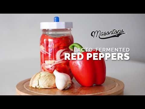 lacto fermented red pepper recipe red pepper recipes red peppers