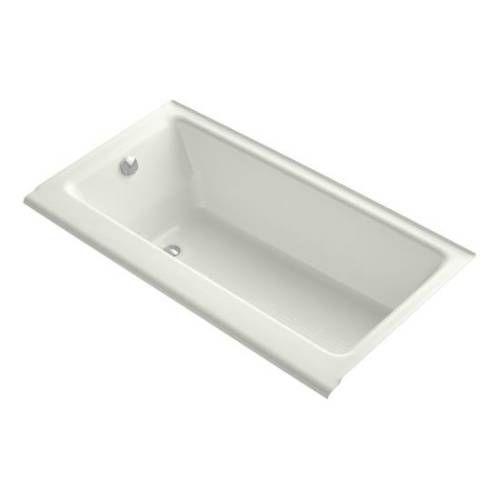Kohler K 877 S Ny Highbridge 60 Drop In Cast Iron Soaking Bath Tub With Enameled Apron And Left Hand Drain Tub Kohler Tub Kohler Bathtub
