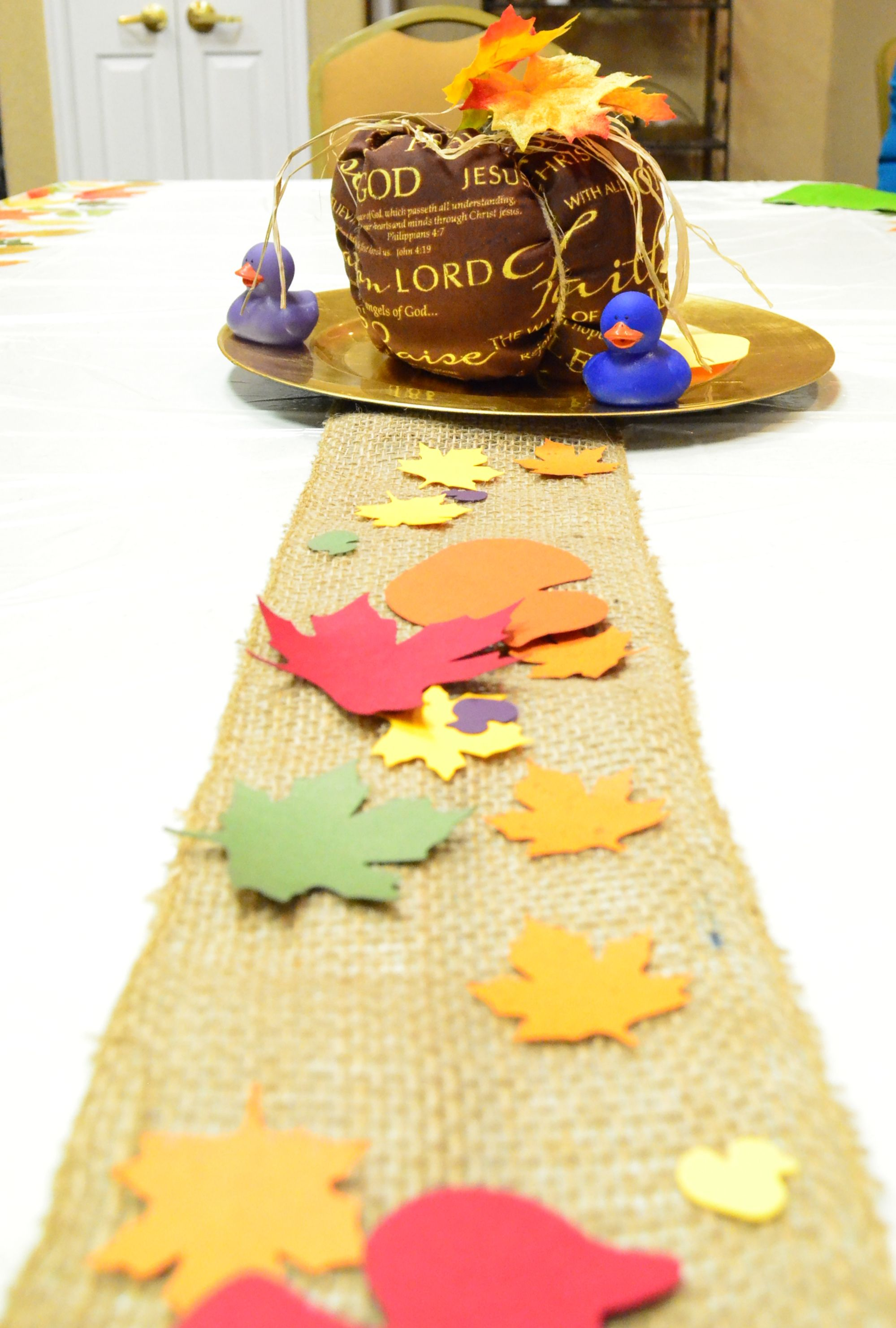 fall table decoration | Thanksgiving | Pinterest | Fall table ...