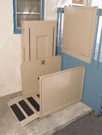 Bruno Vertical Platform Lift Vpl 3100 Stair Storage Storage Interior Stairs