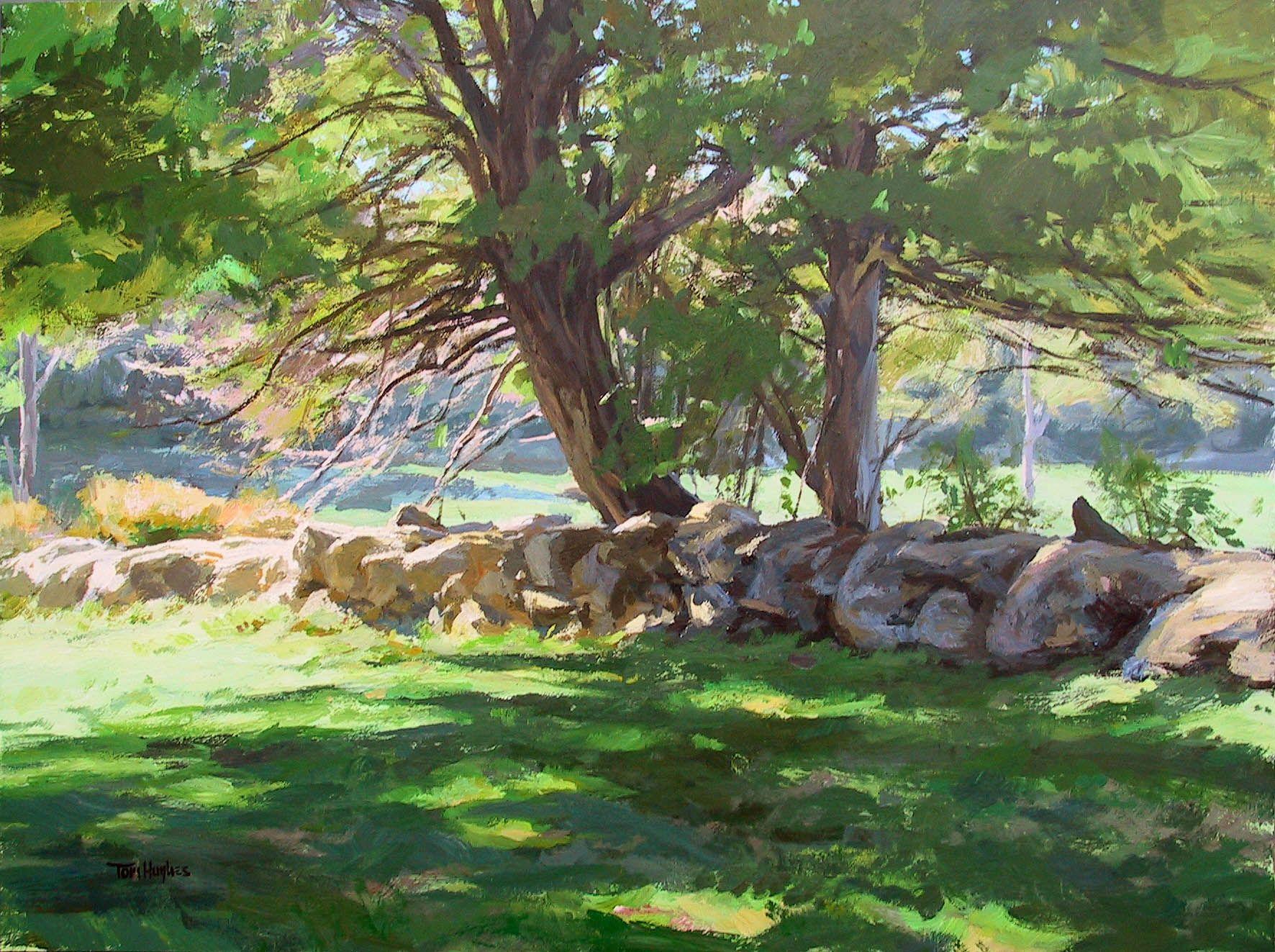 Tom Hughes Events Shows News Landscape Paintings Painting Fine Art Landscape