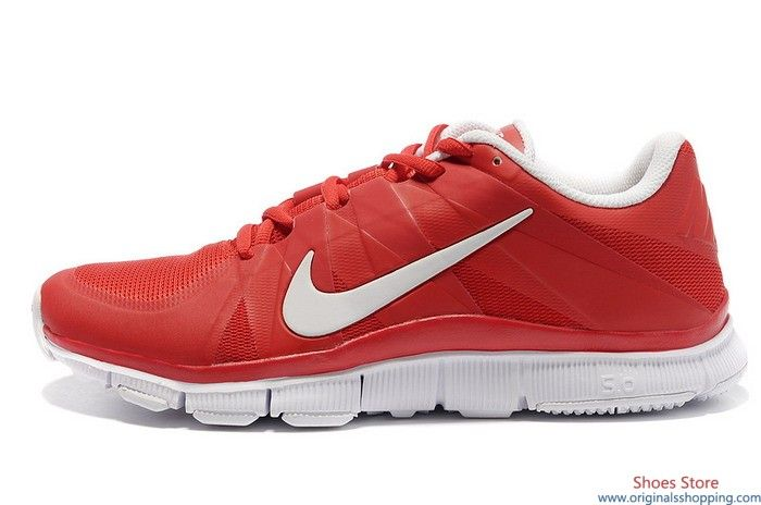 Nike Free Trainer 5 0 V3 Nfl Colorways University Red White Nike Free Trainer White Running Shoes Nike