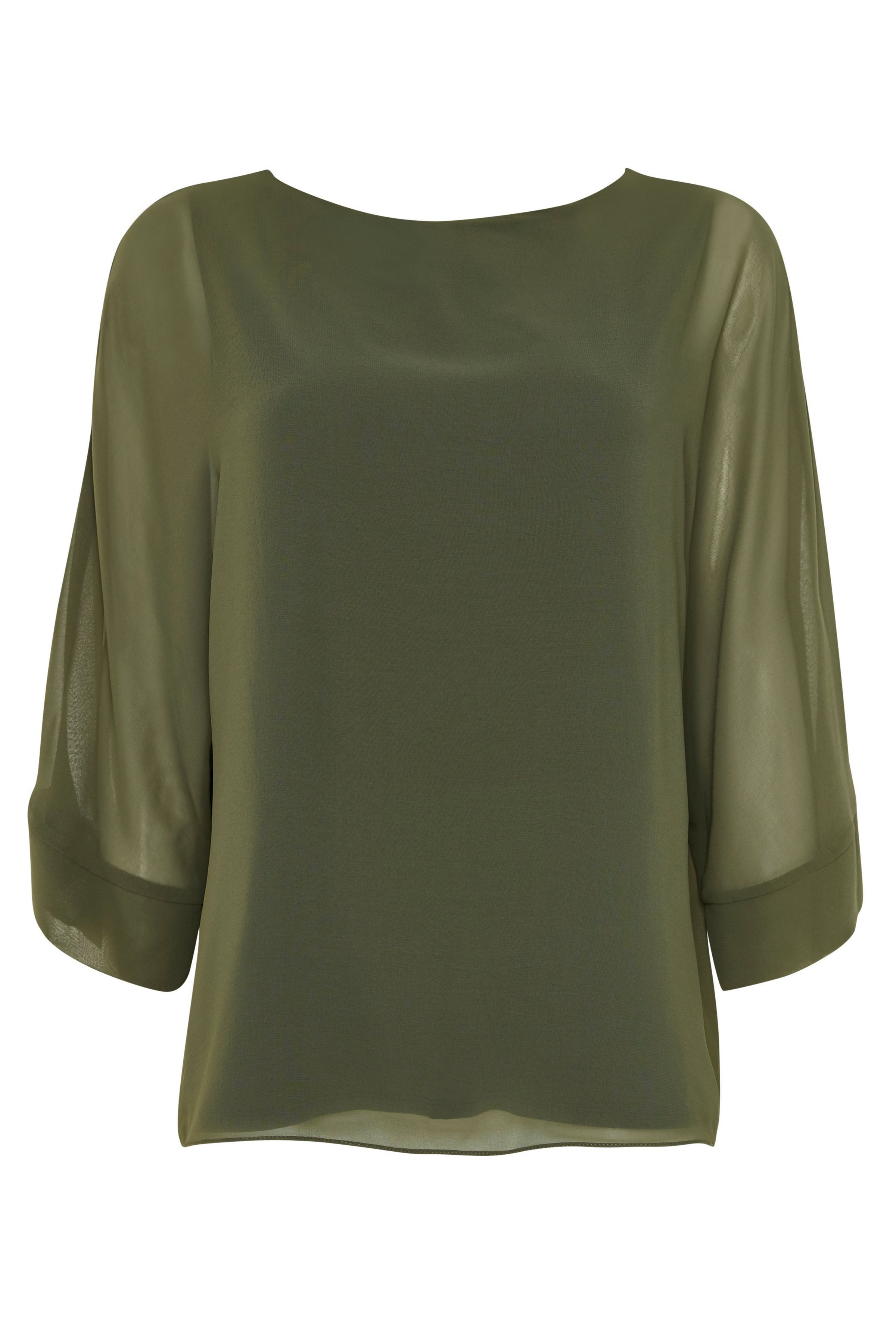 5c490271906cfa Khaki Overlay Blouse   Wallis   @giftryapp   Lust Have Clothes in ...