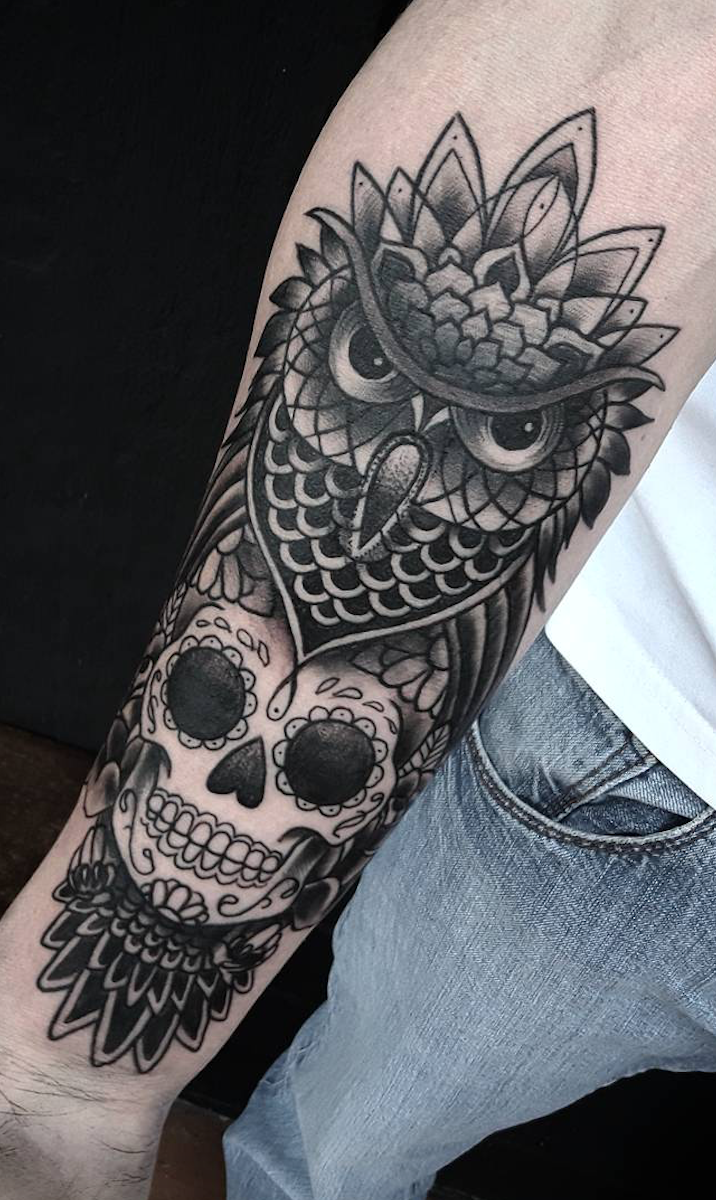 20 Day of The Dead Tattoos That Will Inspire You To Celebrate Life
