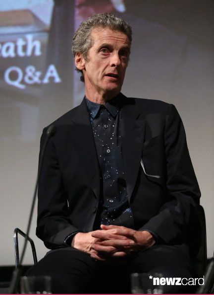 Peter Capaldi attends the 'Doctor Who' London premiere Q&A at the BFI Southbank on August 7, 2014 in London, England. (Photo by Chris Jackson/Getty Images)
