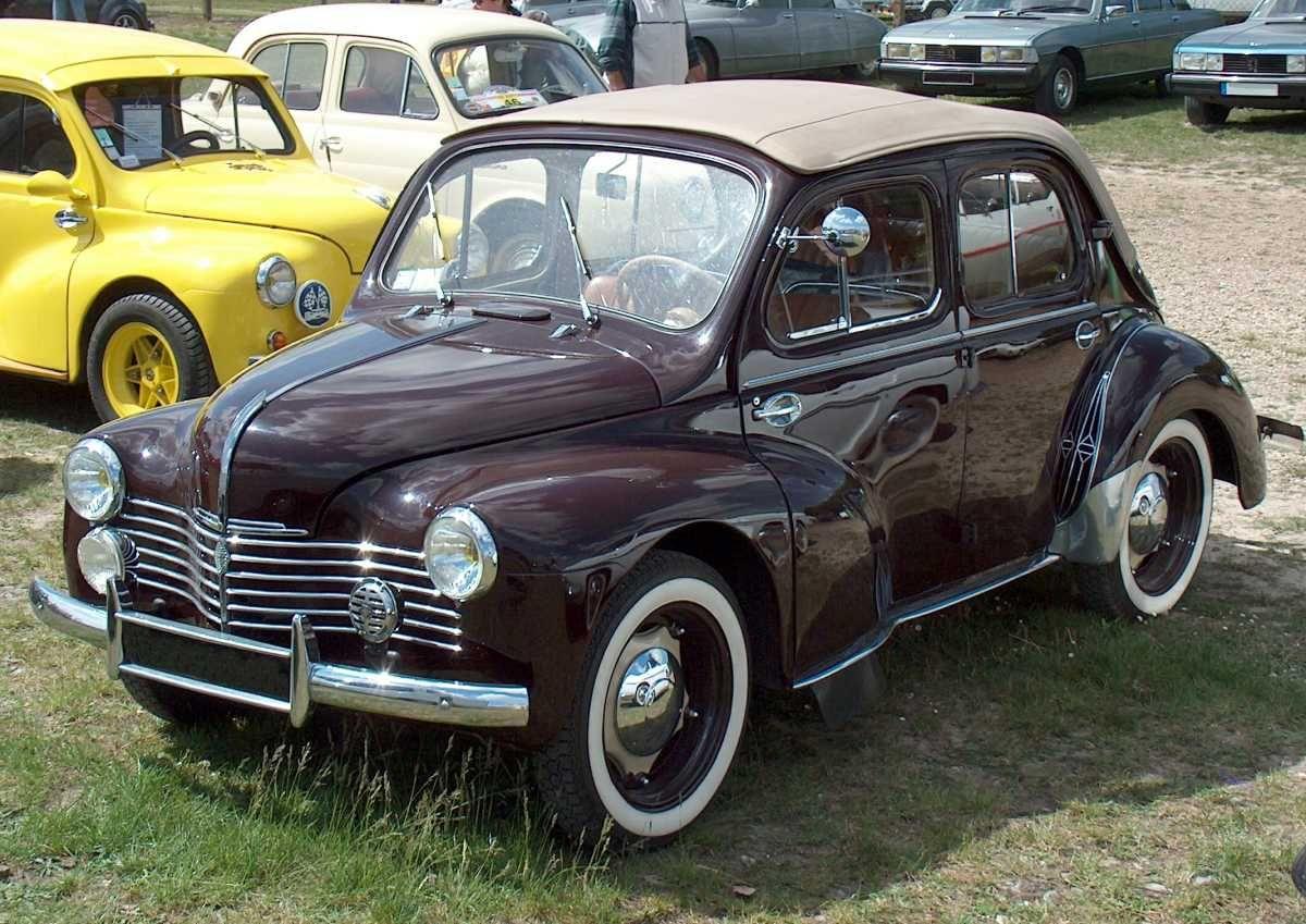 Renault 4 Cv Decouvrable Voitures Classiques Voitures Retro Voiture
