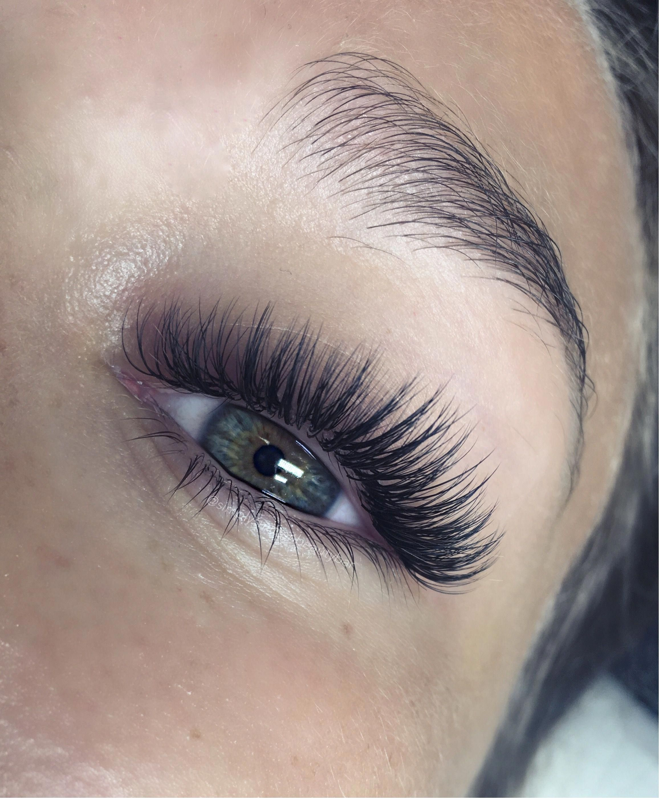 textured volume lashes by Simply Smitten Beauty Bar