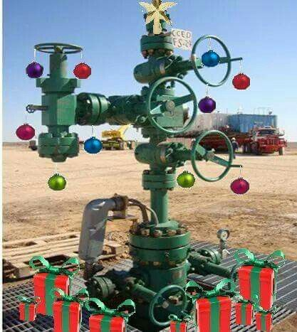 My Kind Of Christmas Tree Oil And Gas Oilfield Trash Very Merry Christmas