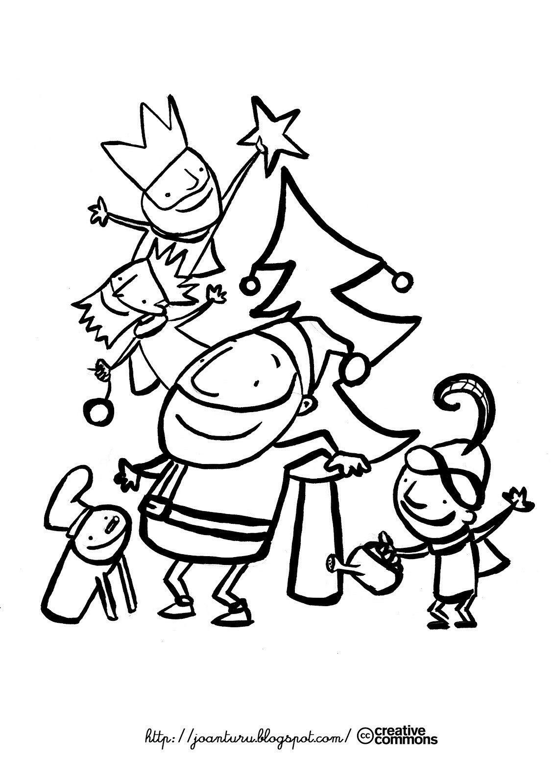 Pin de Dolors Buch en NADAL | Pinterest | Navidad niños, Colorear y ...