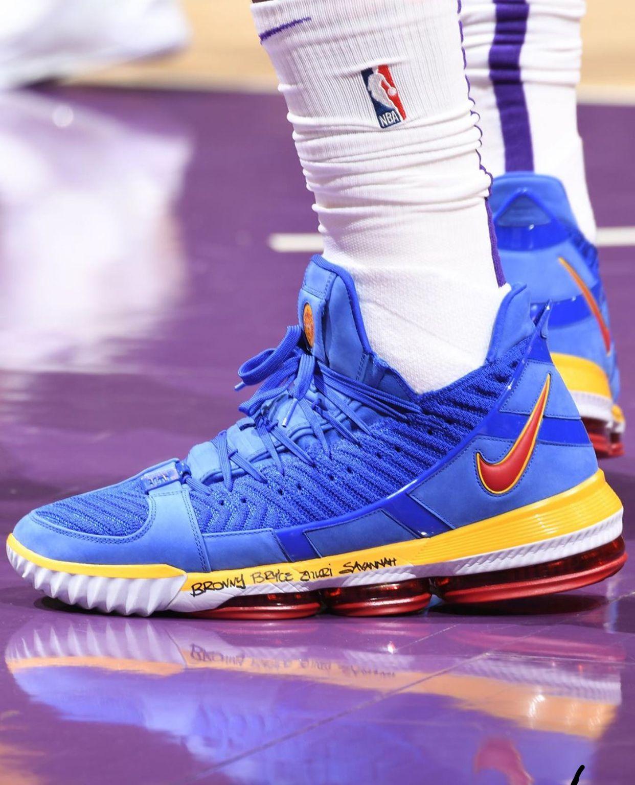 SuperBron Blue in 2019 | Lebron 16, Shoes, Nike basketball