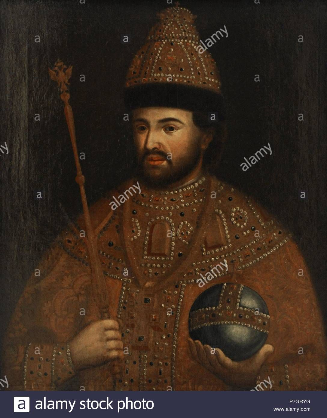 Ivan V Of Russia Romanov History Peter The Great