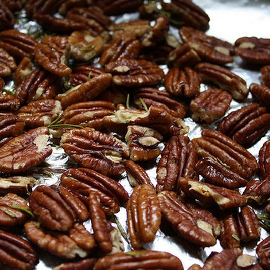 Salt-roasted Pecans Recipe - (4.1/5)