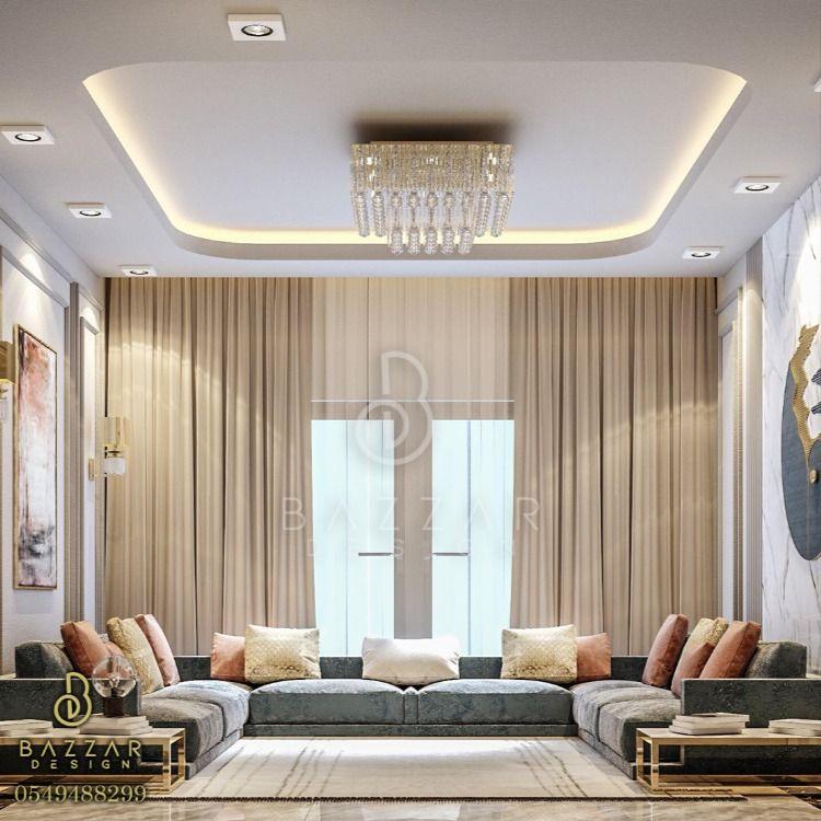10 Ideas For Living Room Design Living Room Decor Gray Ceiling Design Bedroom Modern Interior Decor