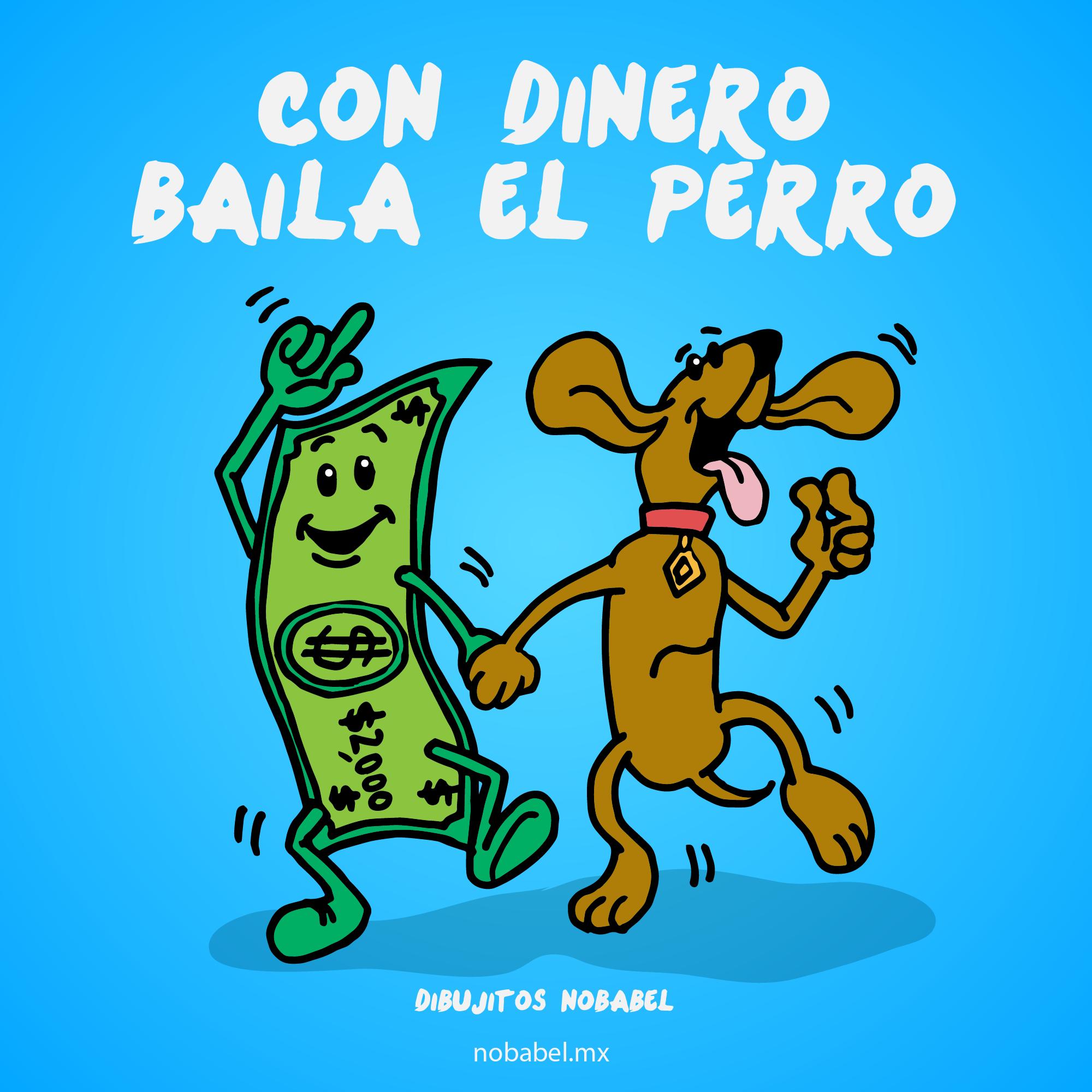 Con Dinero Baila El Perro Chistes Tiernos Memes Divertidos Imagenes Graciosas