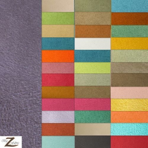 Microfiber Passion Suede Upholstery Fabric 50 Colors 58 Width
