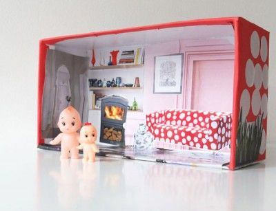 Shoebox Dollhouse