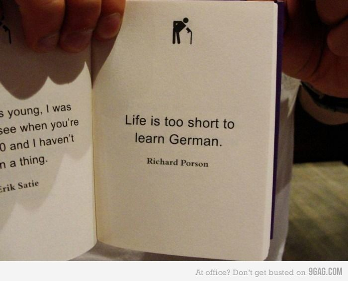 Scheisse Funny Quotes About Life Learn German Life Is Too Short Quotes