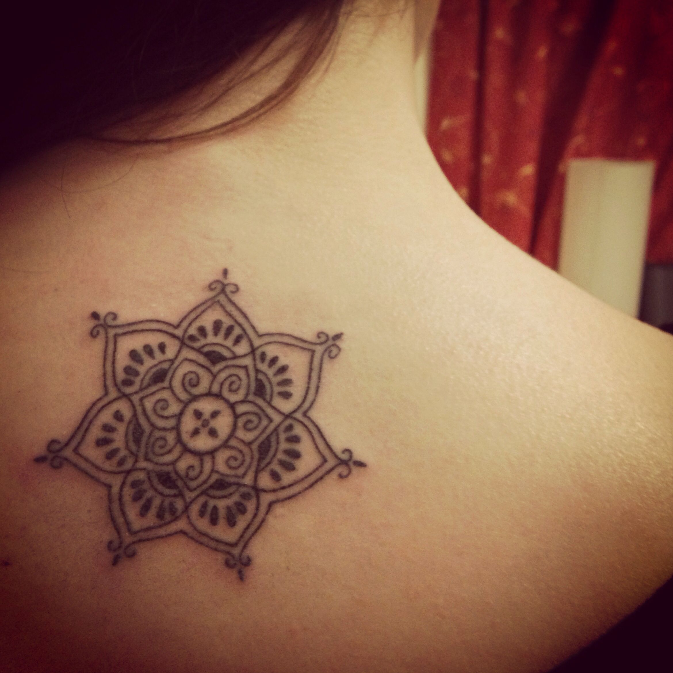 Fall Henna Designs: First Tattoo! Henna Style Lotus Flower