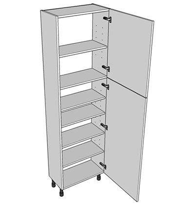 400mm tall larder unit 2150 high 300mm deep split for Full height kitchen units