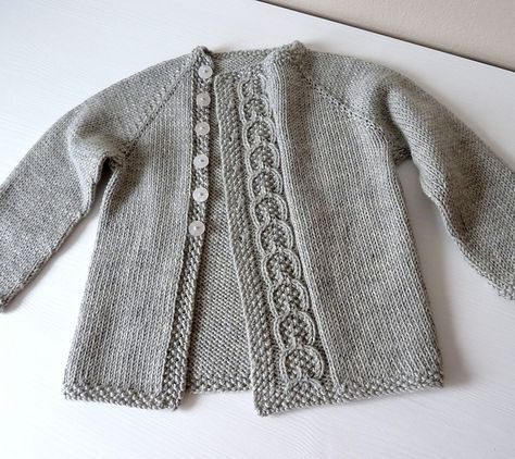 Ravelry: knittingant\'s project of Olive You Baby cardigan by Taiga ...