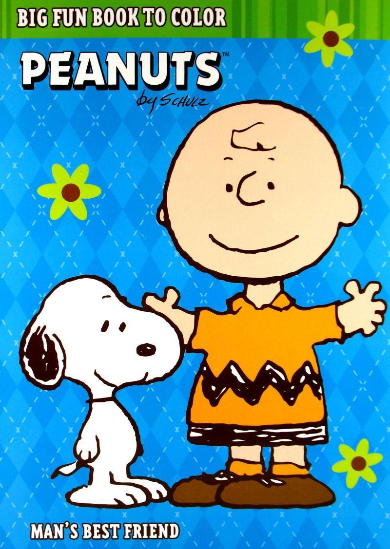 Peanuts Big Fun Book To Color - Man's Best Friend | Peanuts
