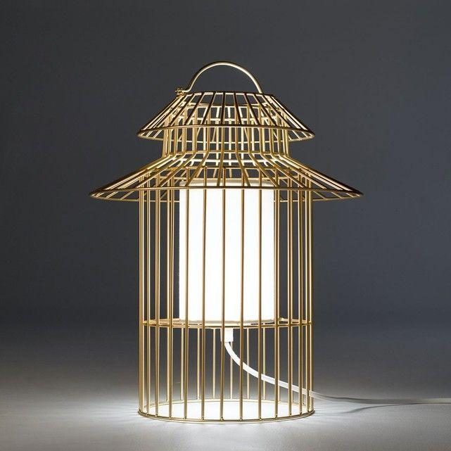 Lampe à poser enfant cage à oiseau Cuicuicui | Lampes, Oiseaux et ...