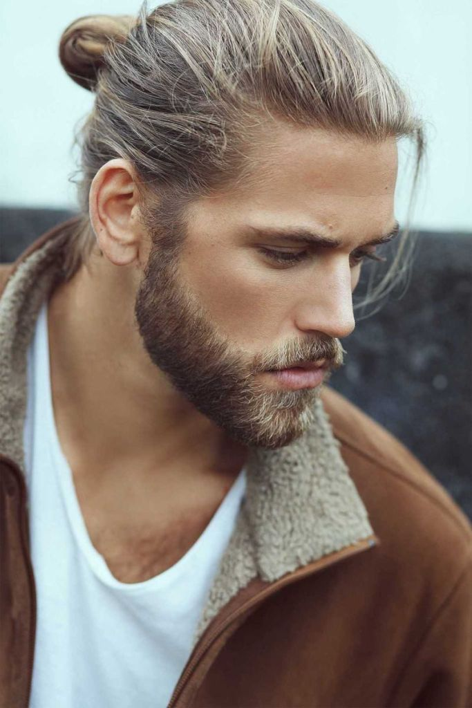 3 professional hairstyles for men with long hair  cabello