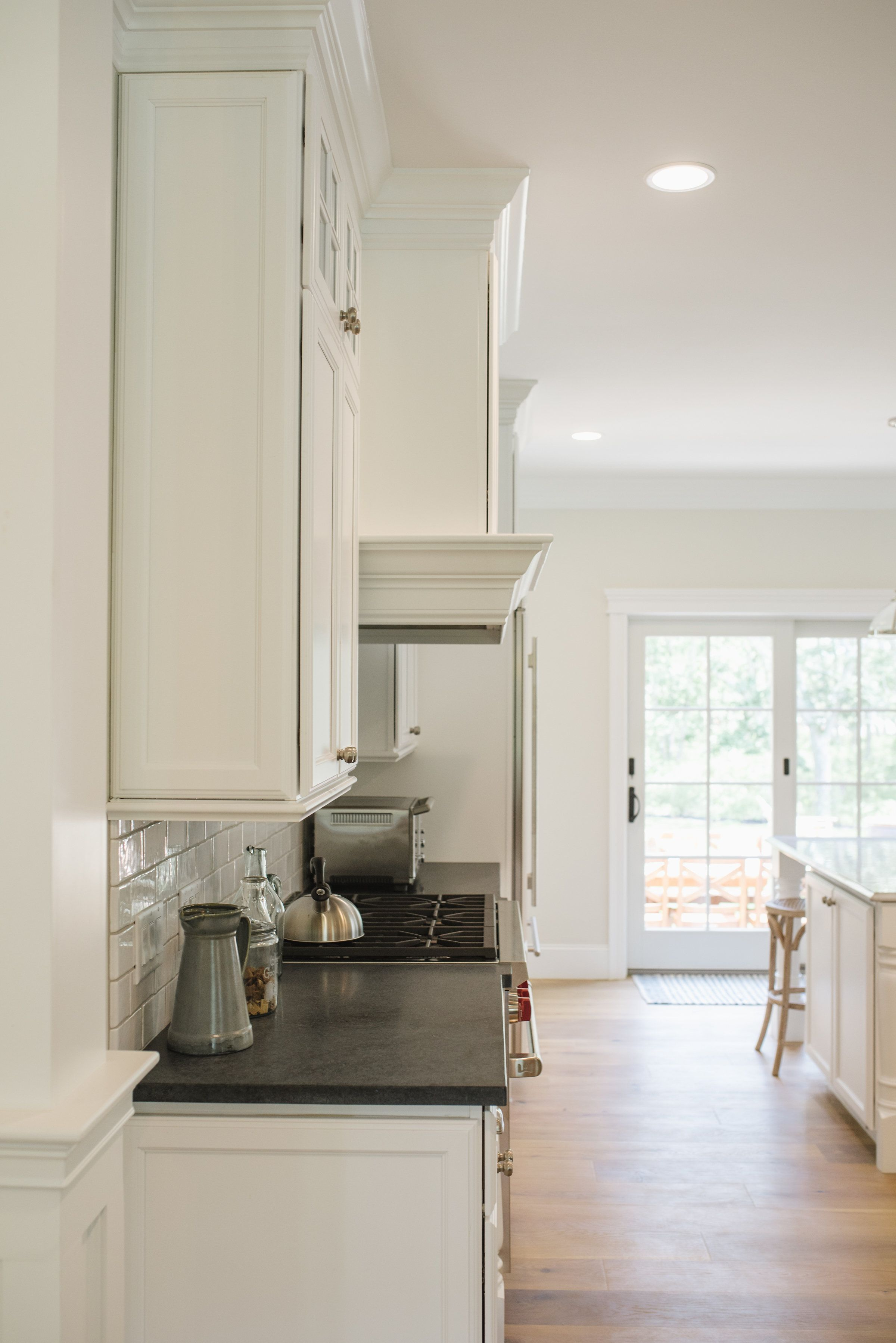 Photographed by clement and west nantucket door style true white designed by kevin at cape island kitchens kitchen cabinets are made in america