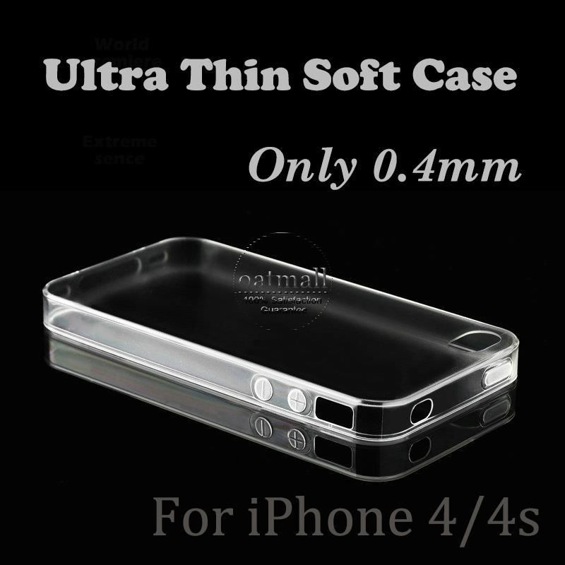 Top TPU Soft Case for iphone 4/4s 0.4mm 5.2g Cases for iPhone 4 4s 4G Cover New Era Case for iphone 4s Case para iphone 4s Capa