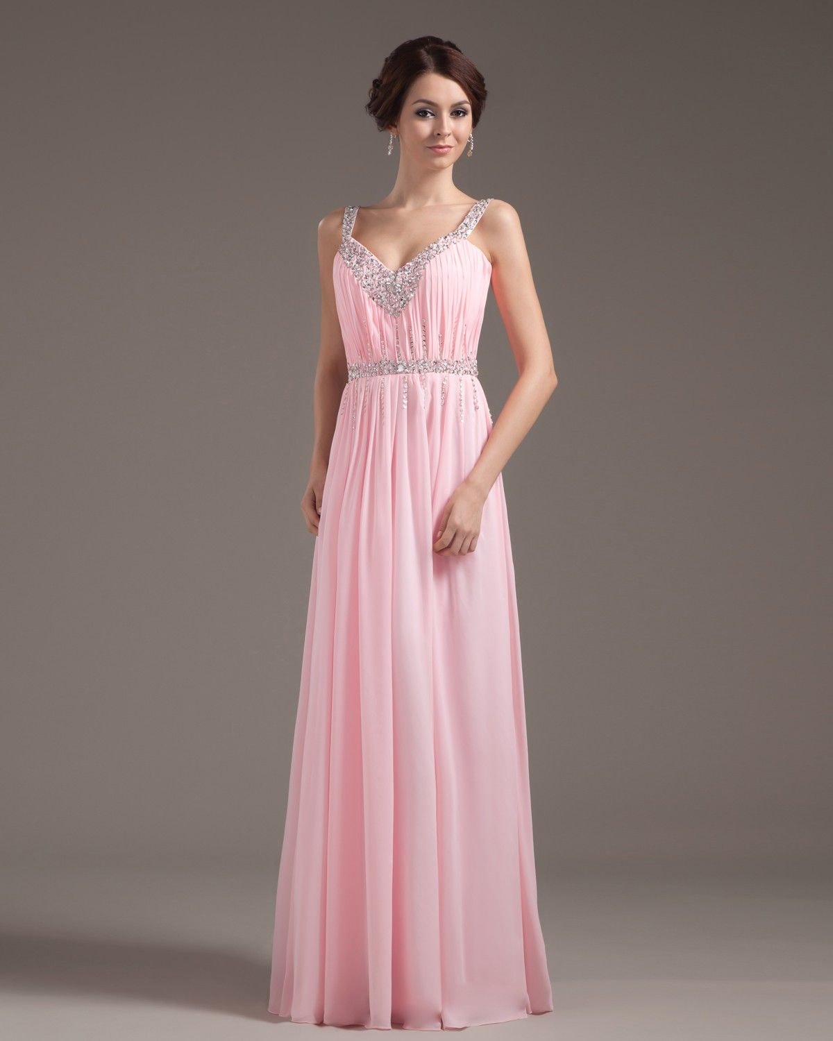 Pink prom dresses are extremely sought after at the moment and the