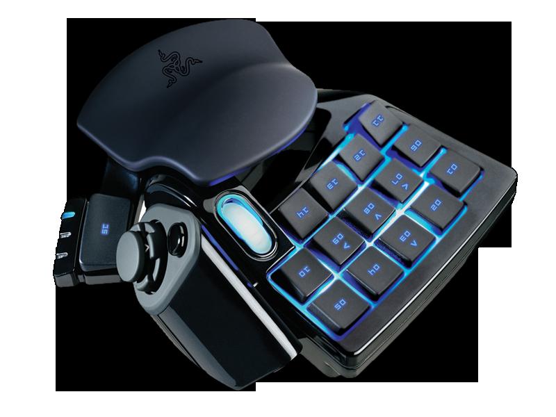 Razer Nostromo Gaming Extensiom Keyboard New technology