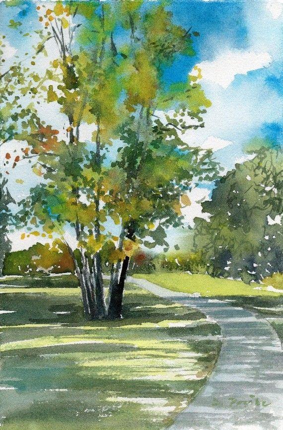 Worcester Sketchbook No 86 Limited Edition Of 50 Fine Art Etsy Watercolor Art Landscape Watercolor Landscape Paintings Landscape Paintings