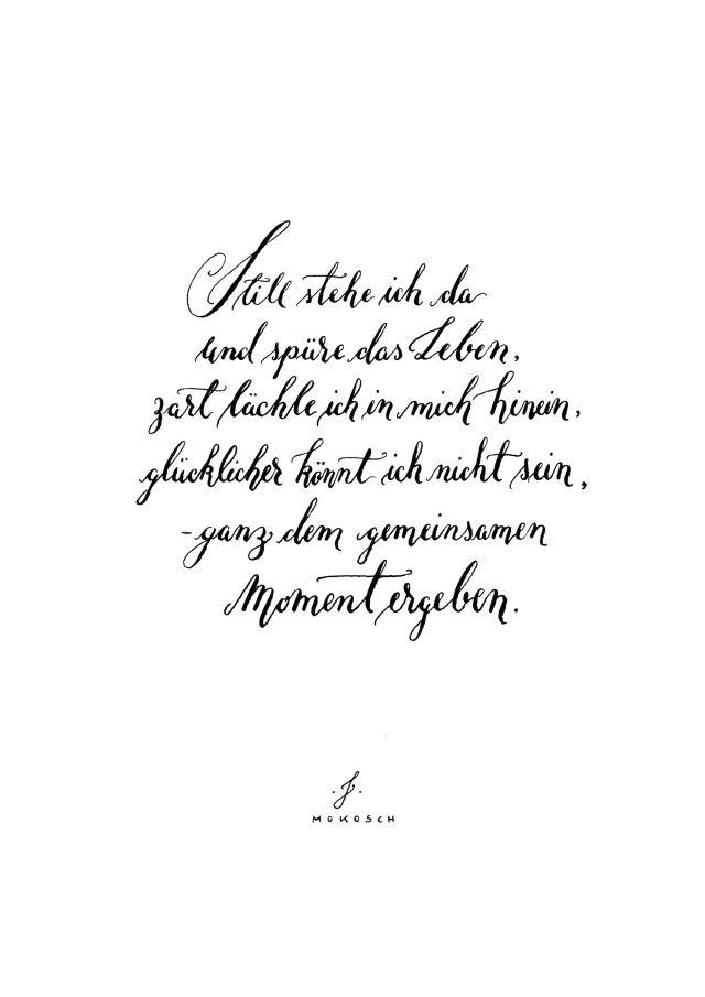 Prints | Kalligrafie, Liebe und Weisheiten