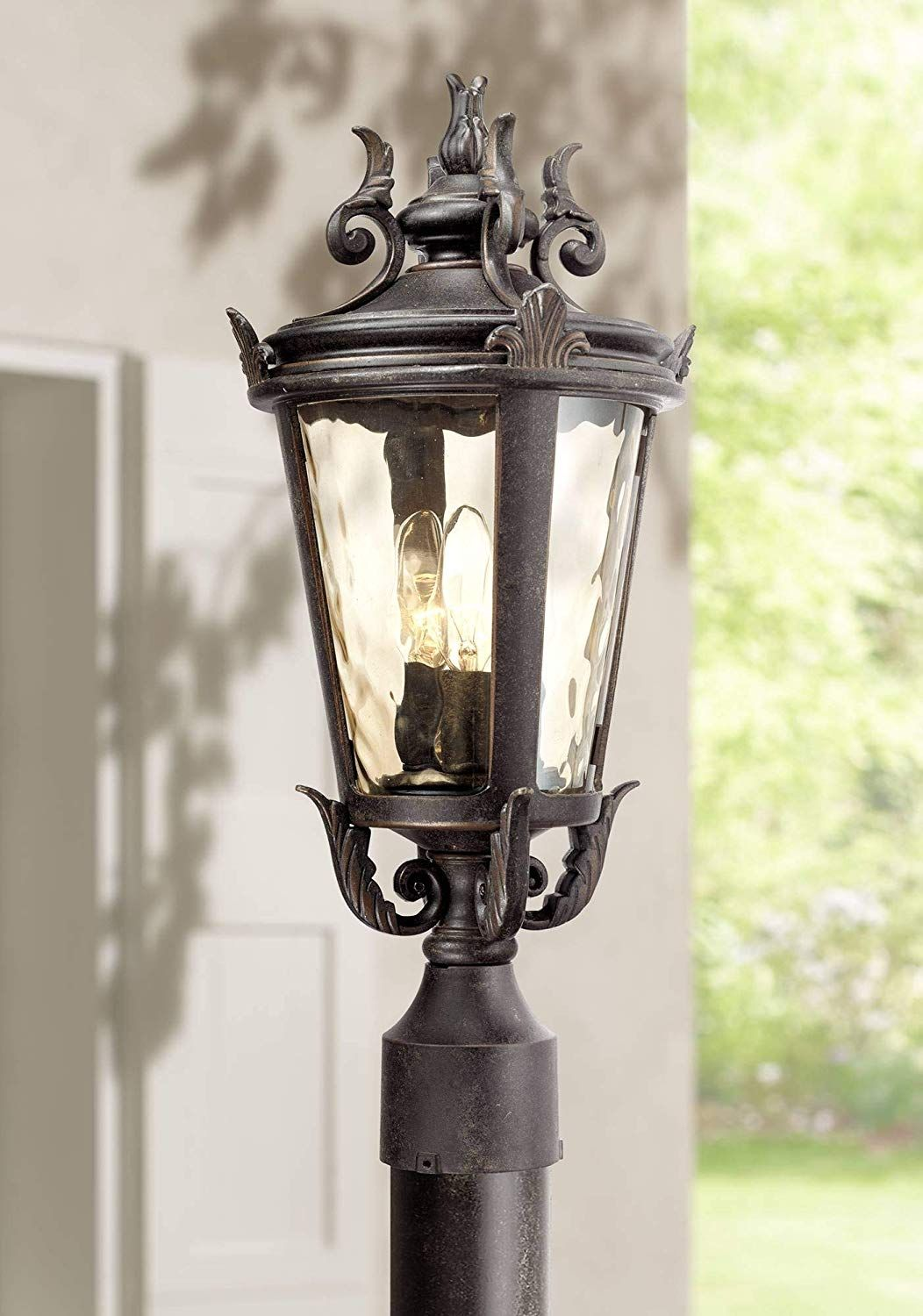 Casa Marseille Traditional Post Light Pier Mount Fixture Mediterranean Veranda Bronze S Post Lights Outdoor Post Lights Contemporary Outdoor Lighting