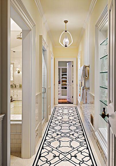 Hall To Master Bathroom And Walk In Closet Crisp