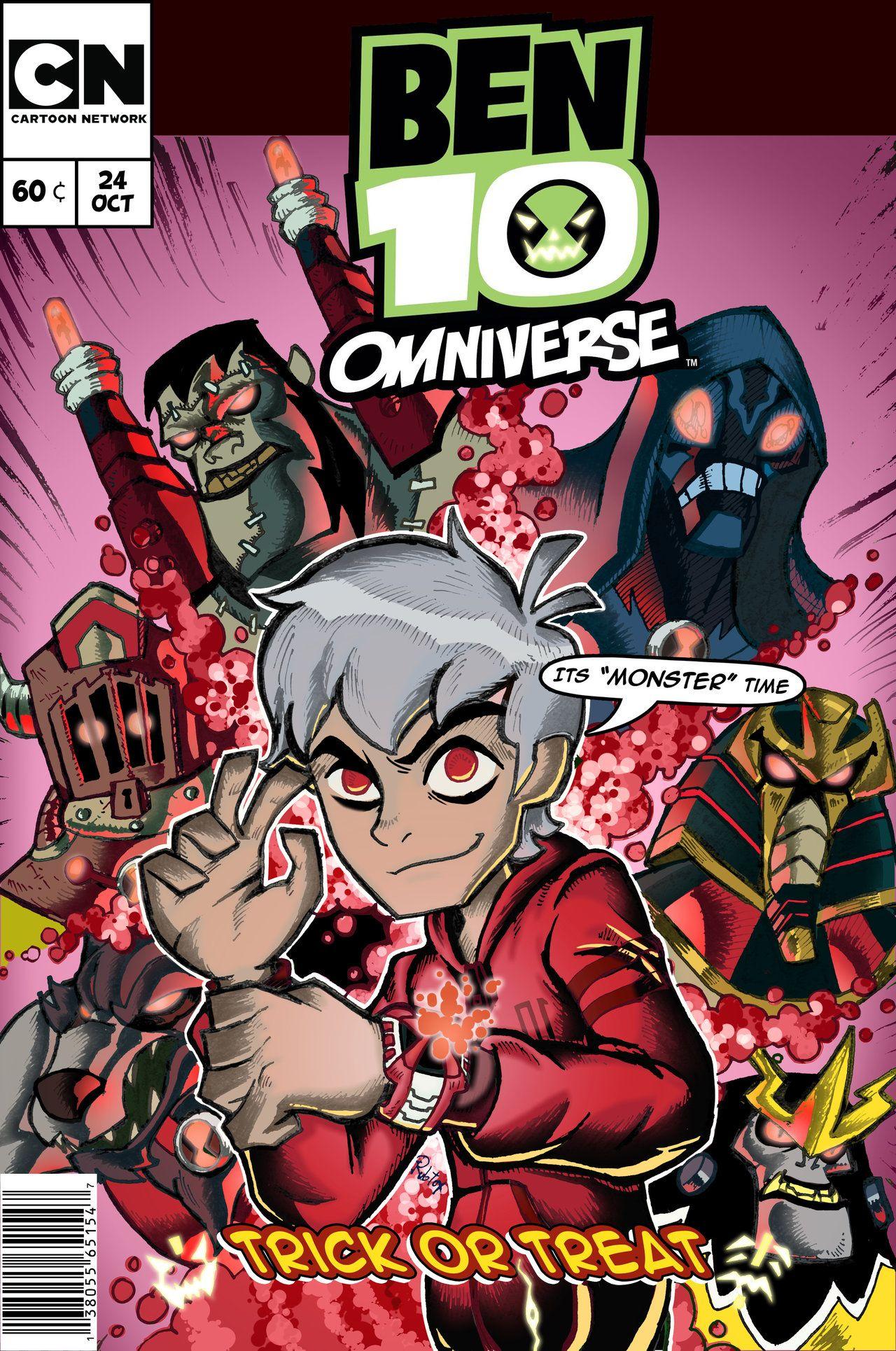 100 Photos of Ben 10 Omniverse Comic